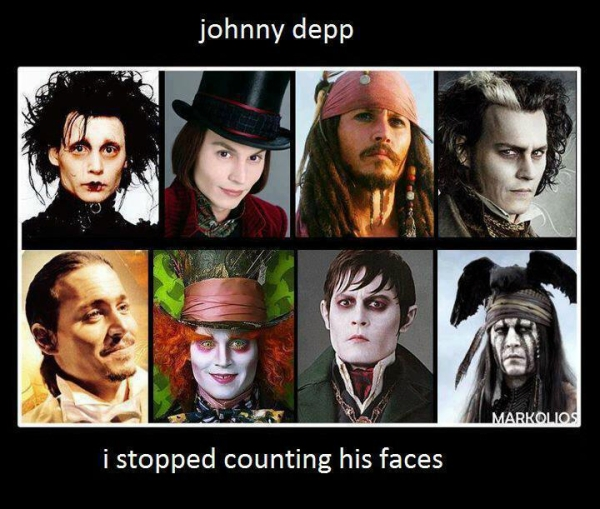 Johnny Depp Is Known For His Very Eclectic And Diverse Movie Roles Ones That Usually Involve A Total Transformation Of The Hollywood Hottie Into An