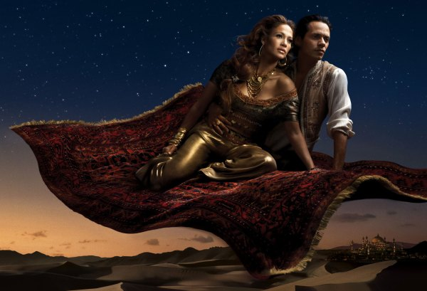 Disney_Aladdin Jennifer Lopez, Marc Anthony