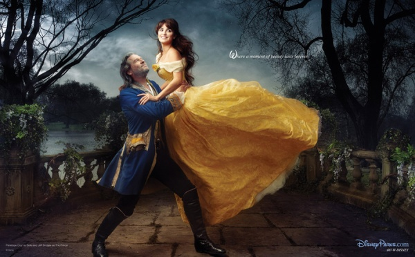 Disney_Beauty and the Beast Jeff Bridges, Penelope Cruz