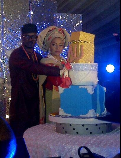 Peter-lola-wedding-cake