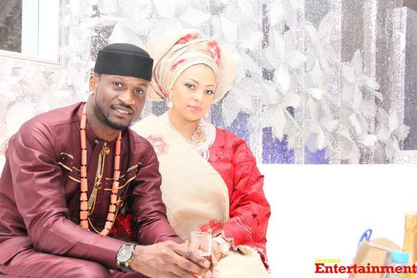 Peter-Okoye-and-Lola-Omotayos-wedding-on-Sunday-November-17-2013-at-the-Ark-Event-Centre-Lekki-The-Couple-2