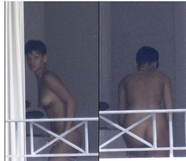 Rihanna-Naked-Nude-Balcony
