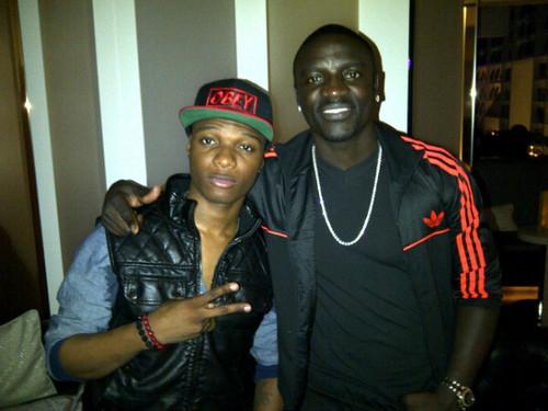 wizkid-Akon