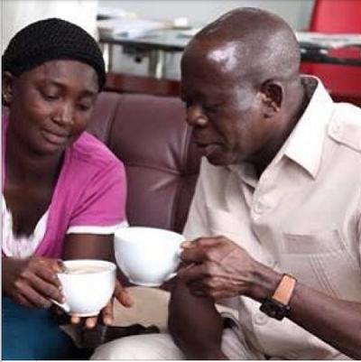 gov oshiomhole and his widow