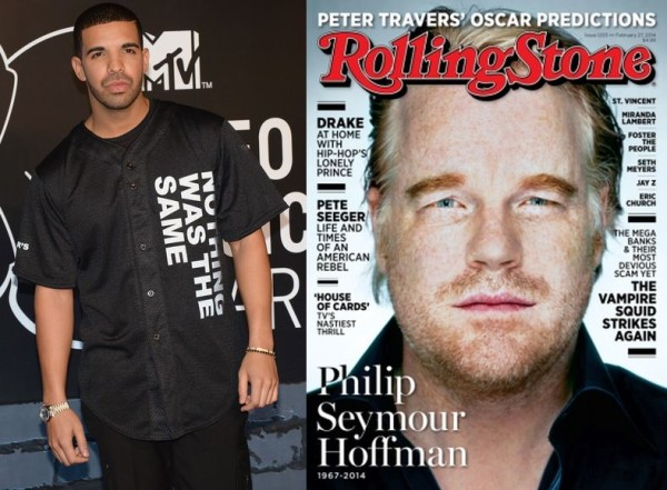Drake-Philip-Seymour-Hoffman-February-2014-BellaNaija-600x441