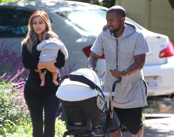 kanye-west-kim-kardashian-north-west-santa-barbara